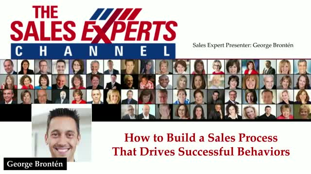 How to Build a Sales Process That Drives Successful Behaviors