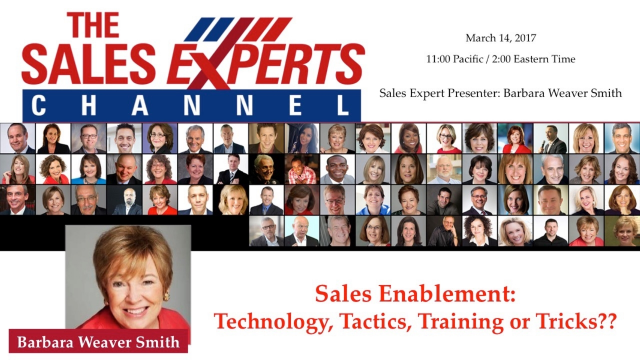 Sales Enablement:  Technology, Tactics, Training or Tricks?