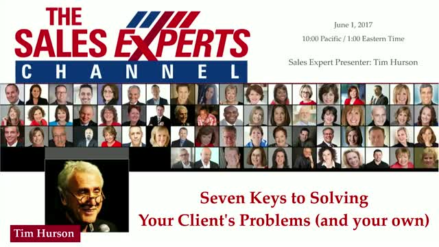 Seven Keys to Solving Your Client's Problems (and your own)