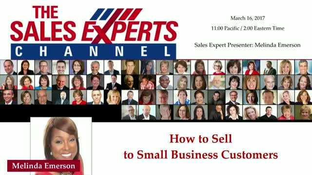 How to Sell to Small Business Customers