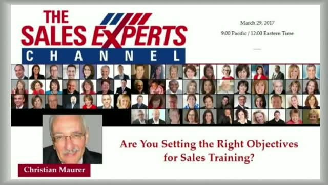 Are you Setting the Right Objectives for Sales Training?