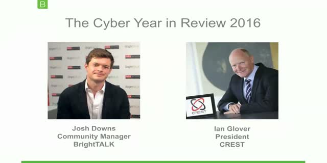 [Video Interview] The Cyber Year in Review: Ian Glover, President, CREST