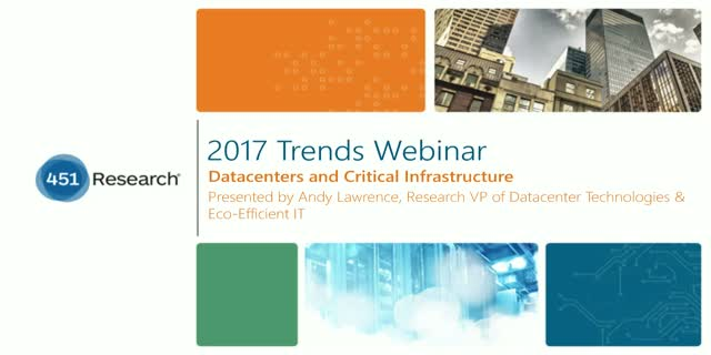 2017 Trends in Datacenters