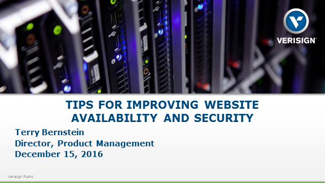 Tips for Improving Website Availability and Security