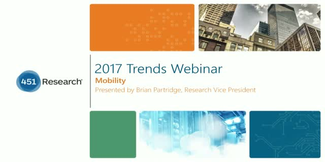 2017 Trends in Mobility