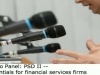 Live Video: PSD2 -- The essentials for financial services firms