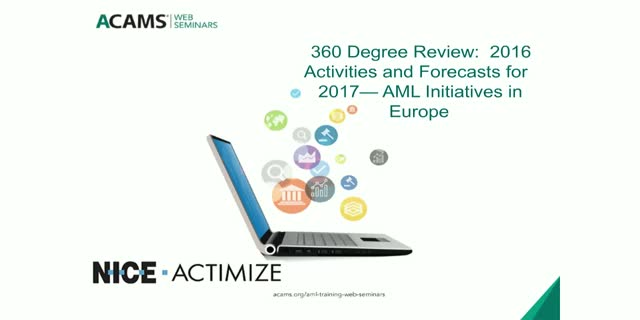 360 Degree Review:  2016 Activities and Forecasts for 2017