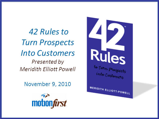 How to turn Prospects into Customers