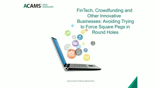 FinTech, Crowdfunding and Other Innovative Businesses