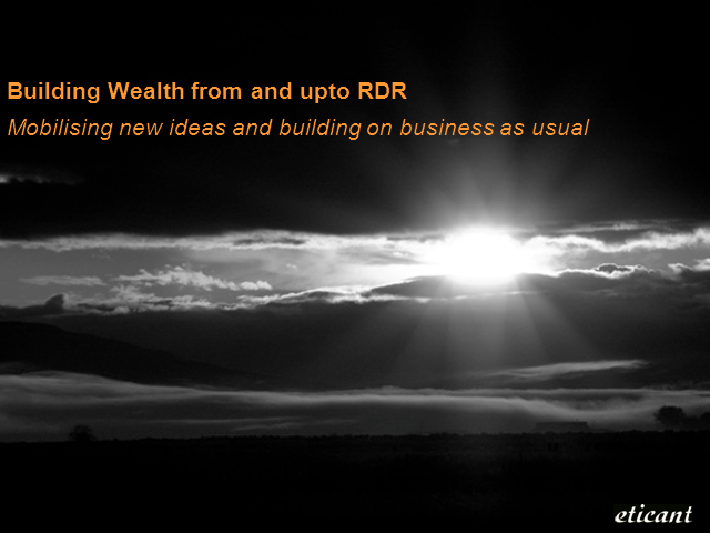 Building Wealth from and upto RDR