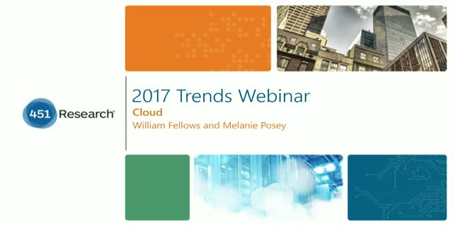 2017 Trends in Cloud