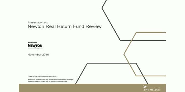 Newton Real Return Fund Review