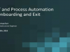 How Process Automation Works with On-Boarding/Off-Boarding