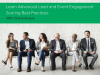 Learn Advanced Lead and Event Engagement Scoring Best Practices