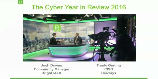 [Video Interview] The Cyber Year in Review: Troels Oerting, CISO, Barclays