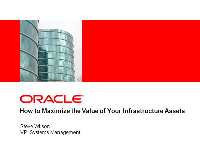 How to Maximize the Value of Your Infrastructure Assets