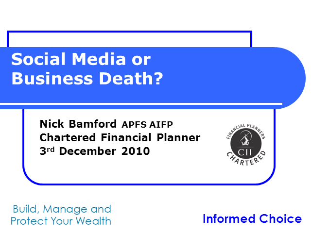 Social Media or Business Death?