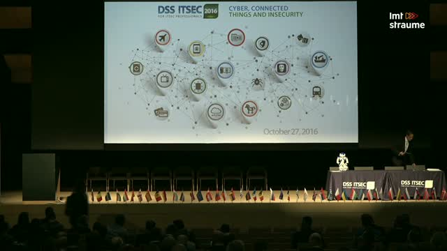 Opening of the DSS ITSEC 2016 event.