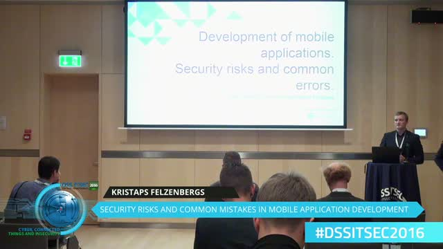 Security risks and common mistakes in mobile application development.
