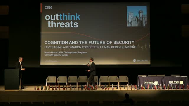 The Future of Security - Leveraging cognitive security for better human decision