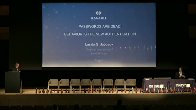 Passwords are dead - Behavior is the new authentication