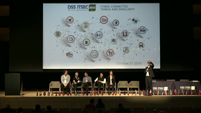 Final DSS ITSEC 2016 Panel Discussion