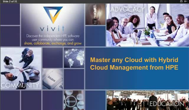 Master any Cloud with Hybrid Cloud Management from HPE