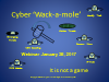 Cyber Wack-a-mole It is not a game