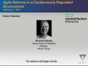 Agile Delivery in a Continuously Regulated Environment