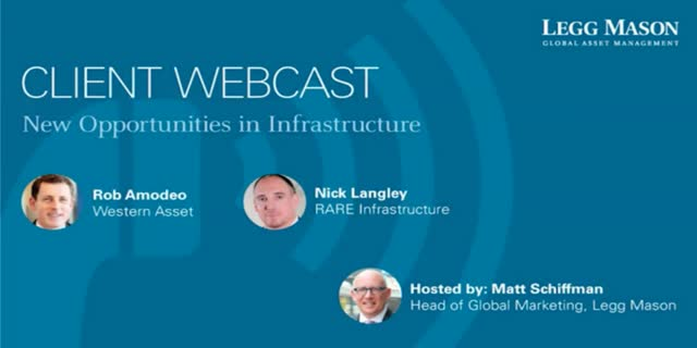New Opportunities in Infrastructure Investment