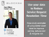 Use your data to Reduce Service Request Resolution Time