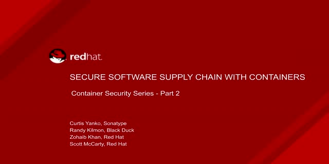 Secure Software Supply Chain with Containers [Container Security Series: Part 2]