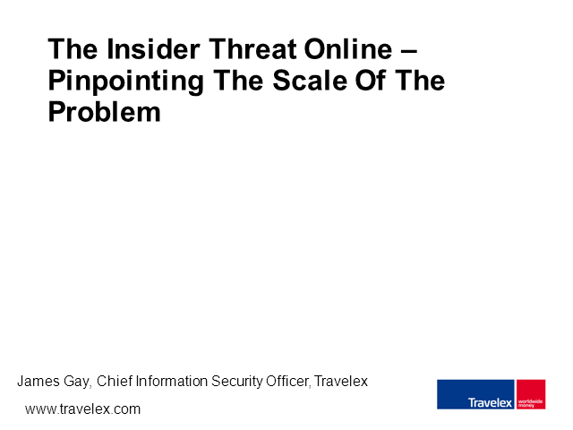 SC Summit: The Insider Threat Online – The Scale Of The Problem