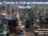 Top Trends in Critical Infrastructure Threats & Security