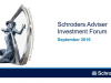 Schroders Adviser Investment Forum - Global Real Estate