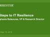 Master of Disaster Webinar - 3 Steps to IT Resilience with Forrester