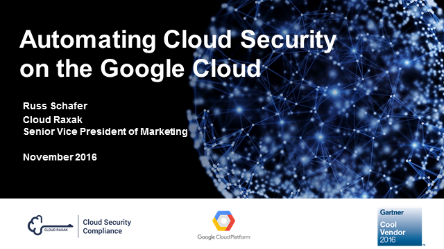 Google Cloud Automated Security