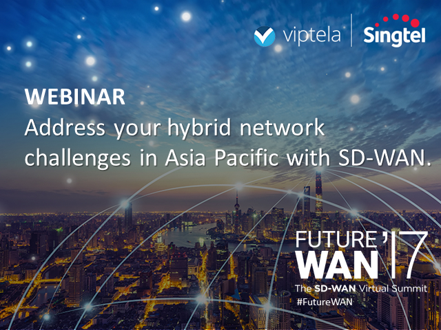 Addressing Hybrid Network Challenges in Asia Pacific with Software-Defined WAN