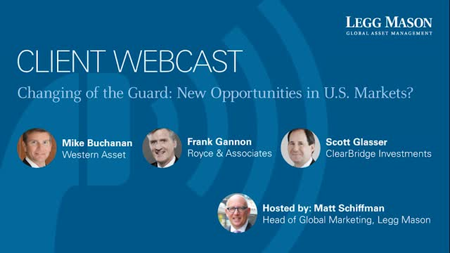 Changing of The Guard: New Opportunities in U.S. Markets?