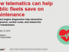 How telematics can help public fleets save on maintenance
