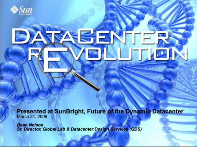 Datacenter Re-Evolution - Change Happens