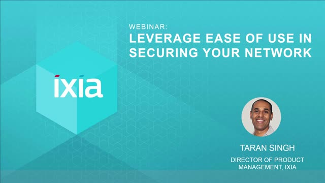 Leverage Ease of Use in Securing your Network