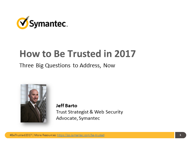 Google Security Alert: How to Be Trusted in 2017 (APAC)