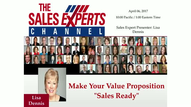 "Make Your Value Proposition ""Sales Ready"""