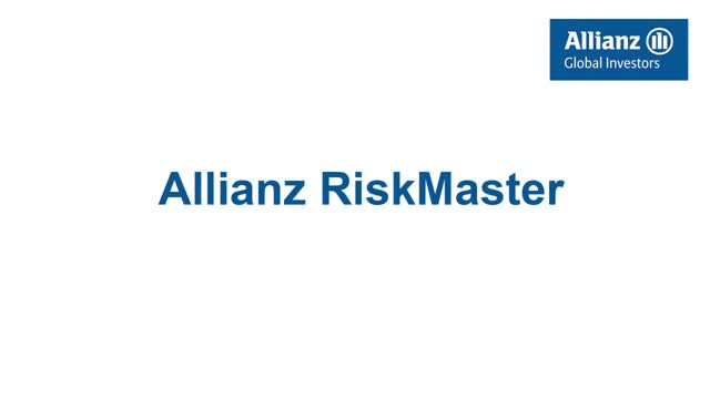 Introduction to the Allianz RiskMaster Fund Range