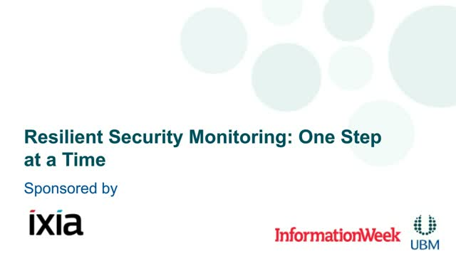 Resilient Security Monitoring: One Step at a Time