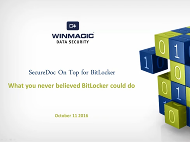 What you Never Believed BitLocker Could Do!
