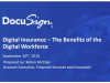 Digital Insurance: The Benefits of a Digital Workforce - Part 2 of 3