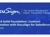 Build A Solid Foundation: Contract Automation with DocuSign for Salesforce