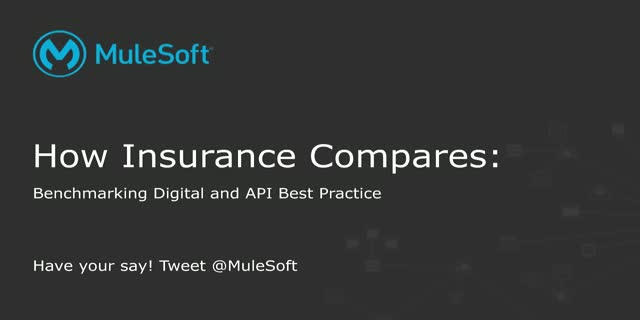 How Insurance Compares: Benchmarking Digital and API Best Practices